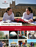 the cover of an exchange brochure