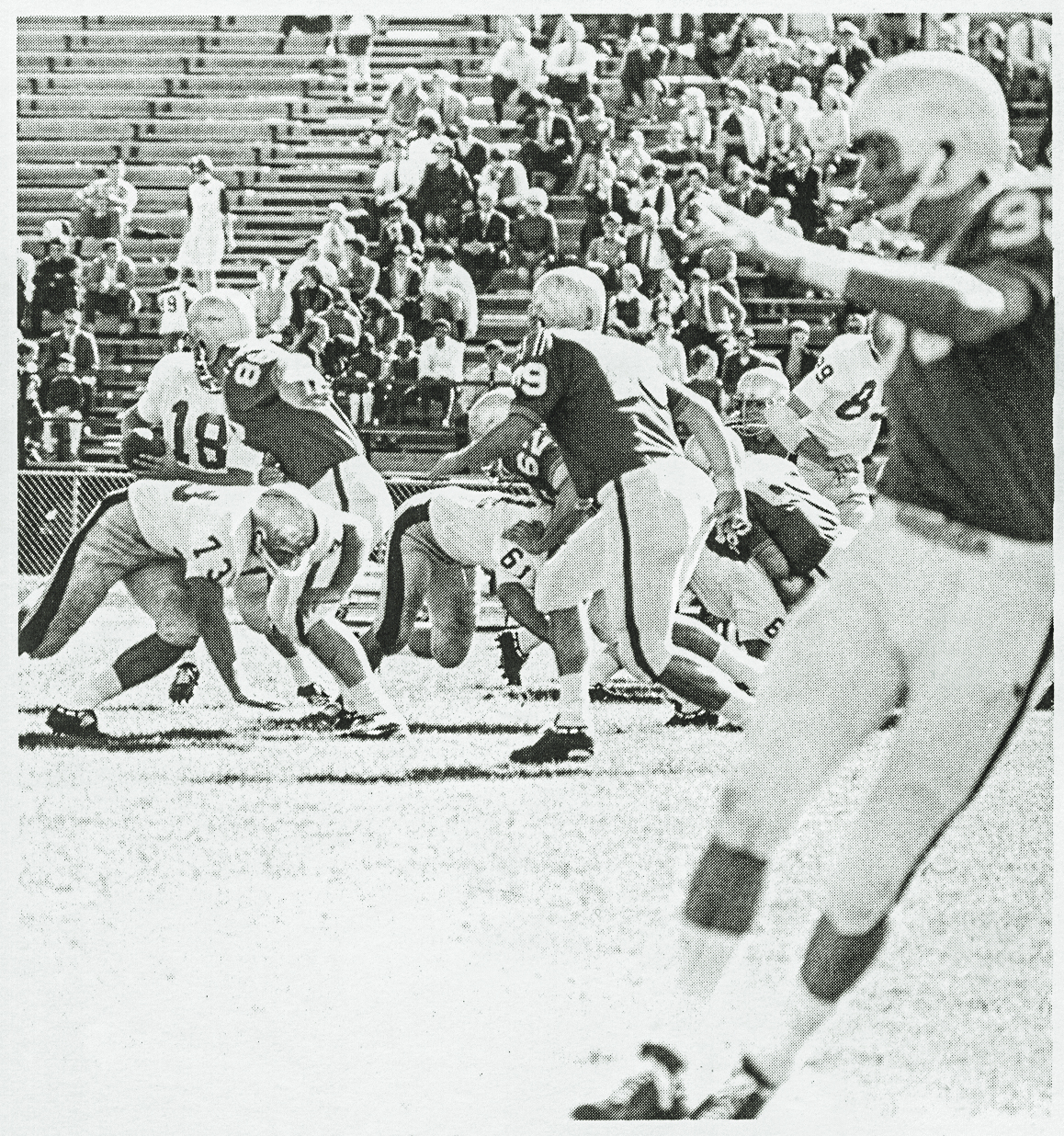 Football game from 1969