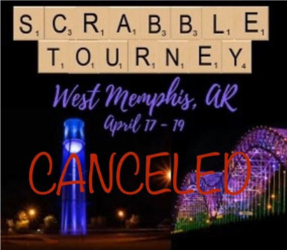 Scrabble Events Cancelled
