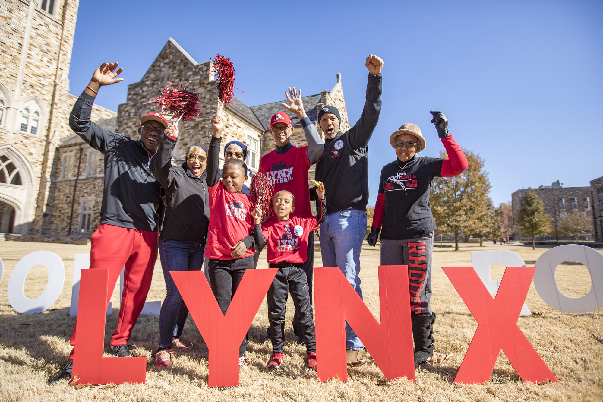 Family Celebrating the Lynx!
