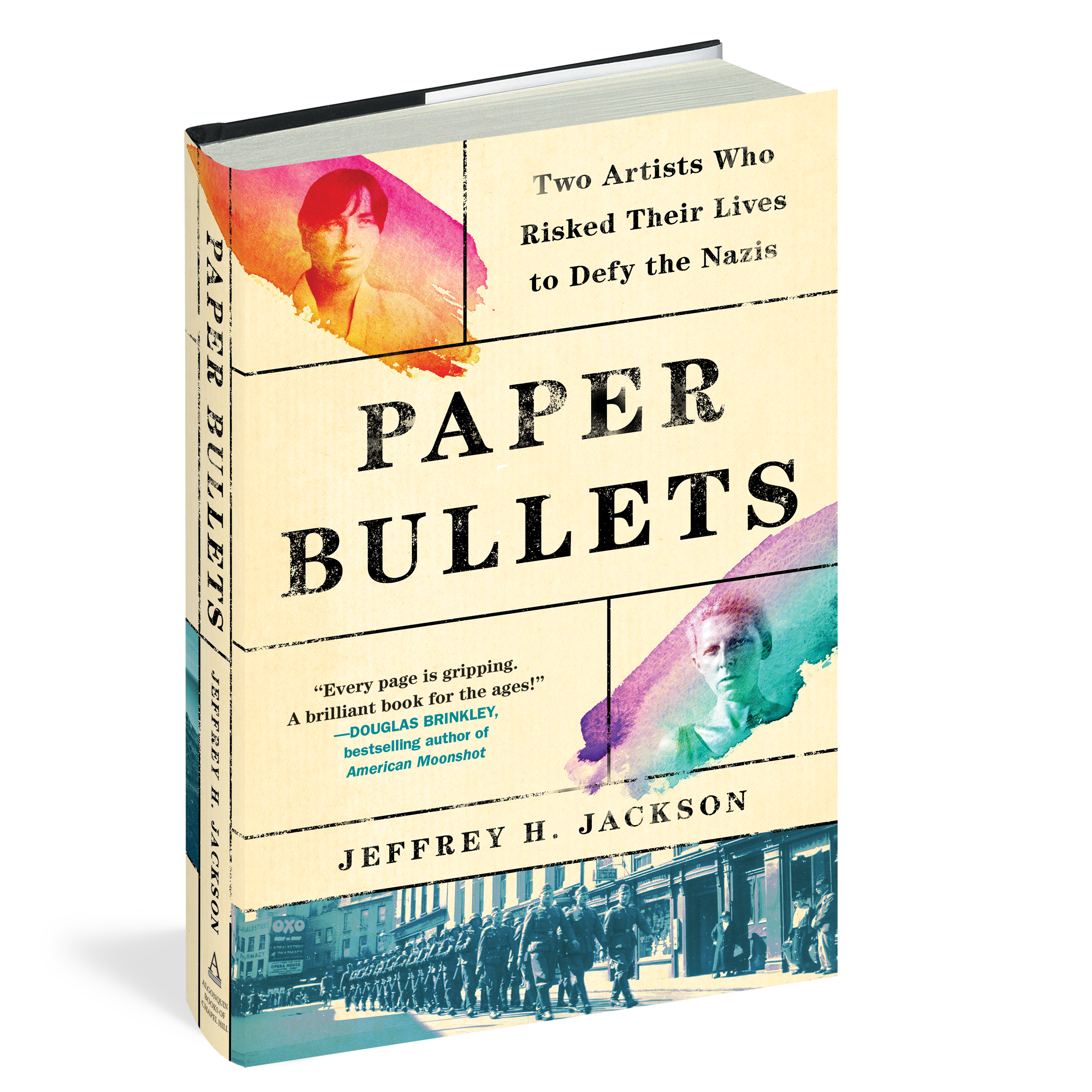 book cover titled Paper Bullets