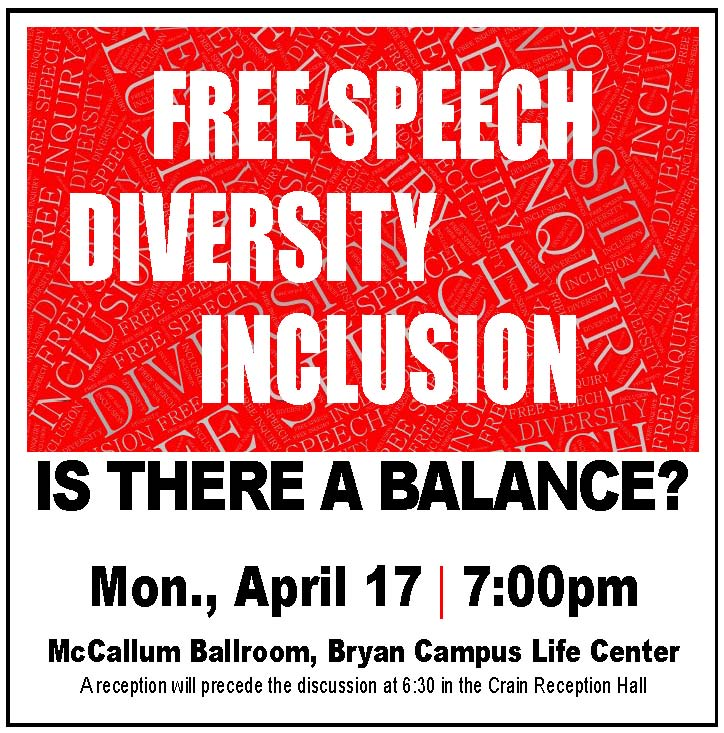 free speech diversity inclusion is there a balance rhodes college
