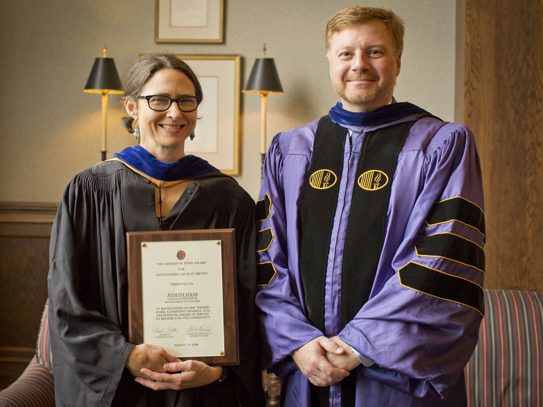 Rhodes College Graduation 2020.Judith Haas Rhodes College