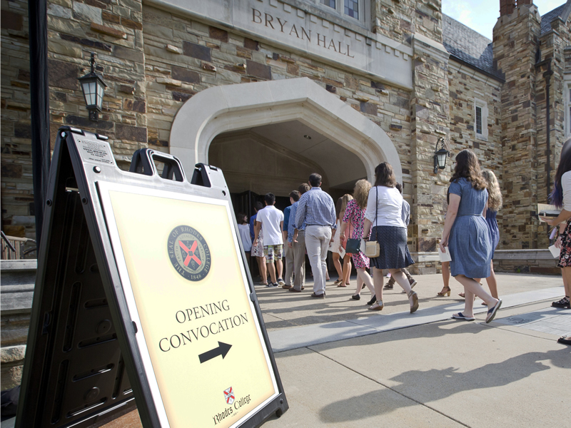 Rhodes College Calendar 2022.Rhodes Welcomes More Than 500 First Year Students Marking The Opening Of The College S 170th Academic Year Rhodes News