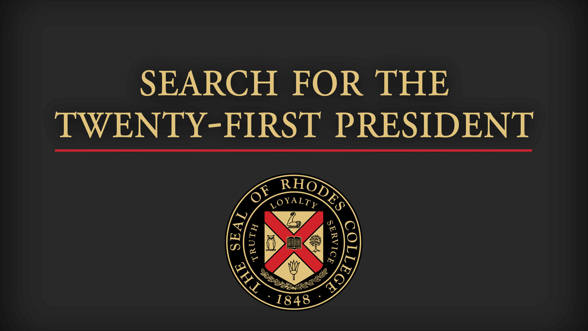 Search for the 21st President of Rhodes College
