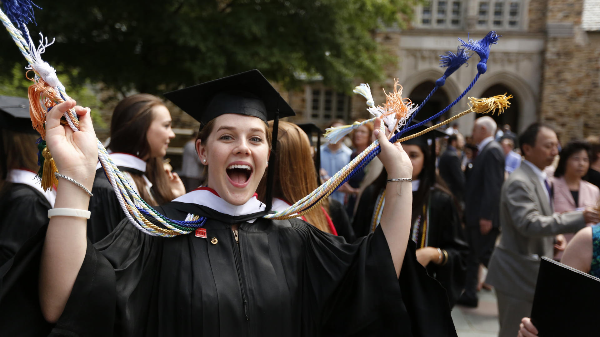 Rhodes College Graduation 2020.Student Achievement Rhodes College