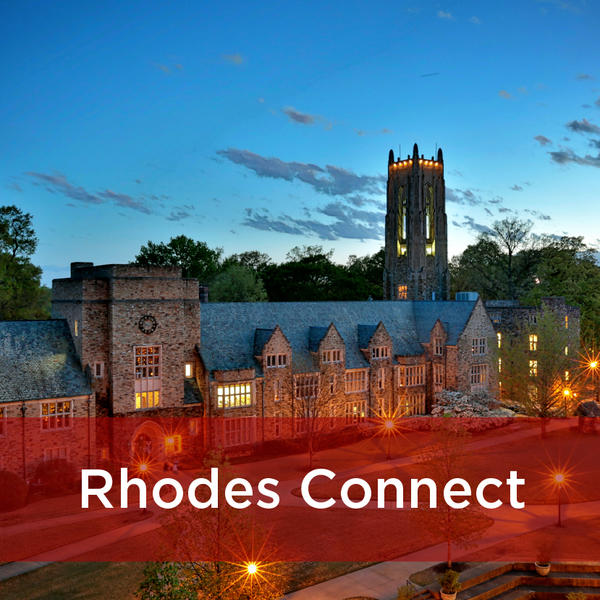 Rhodes Connect website